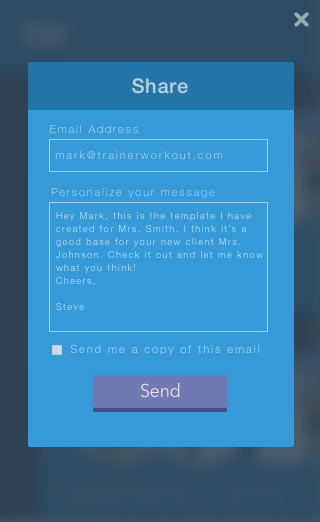 Trainer Workout Personal Training Software for Personal Trainers ...