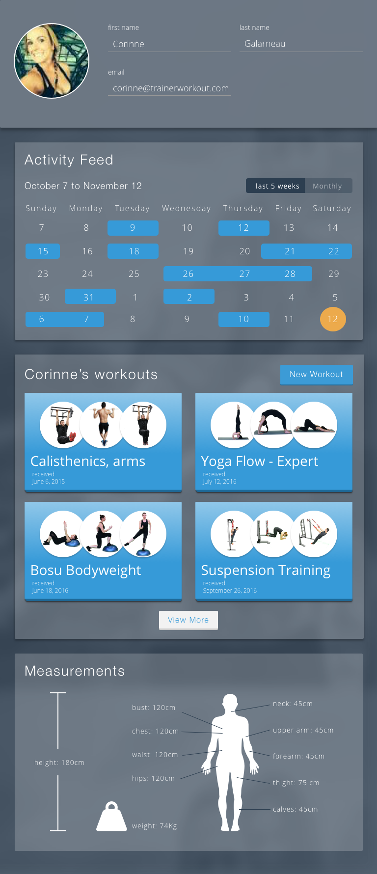 Trainer Workout Personal Training Software For Personal Trainers